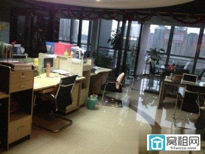 宁波绿园大厦200平写字楼 带部分办公家具