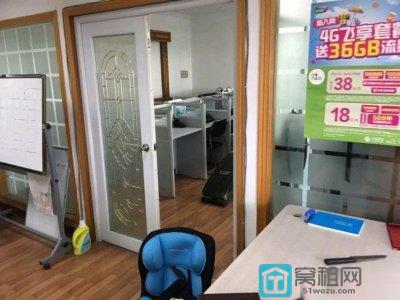 宁波海曙办公室世纪伟业130平米写字楼出租有独立卫生间