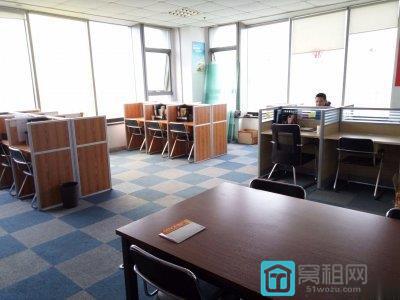 宁波南站东路16号月湖银座90平精装东南写字楼出租