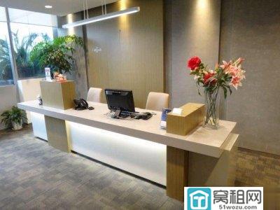 宁波来福士广场小面积办公室出租40平米3500 元/月