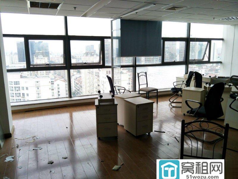 宁波1号线地铁口樱花公园站出口东航大厦103平落地采光写字楼出租