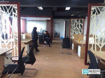 解放桥宁波钻石广场带家具出租208平电梯口带隔间