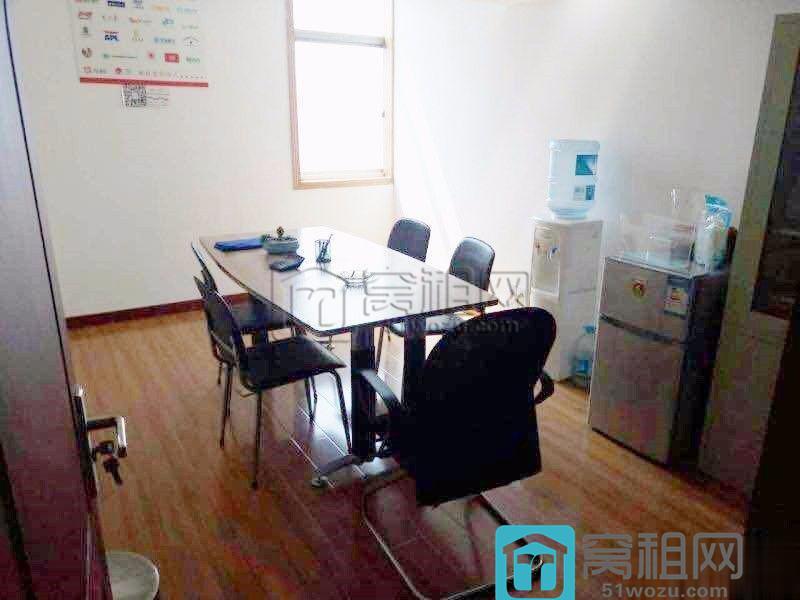 七塔寺会展中心大厦125平精装 3隔间 带家具