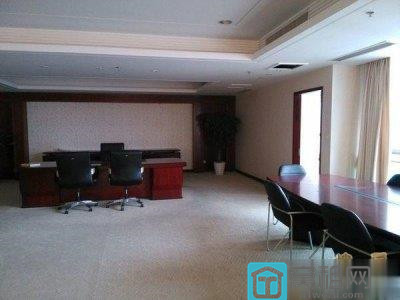 宁波和义大道5A甲级写字楼万豪酒店700平精装办公室电梯口位置