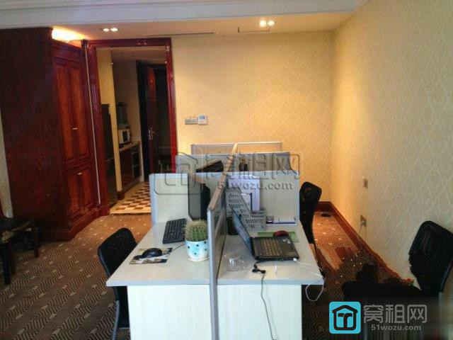 泰康中路558号宁波商会国贸中心73平写字楼豪华装修出租