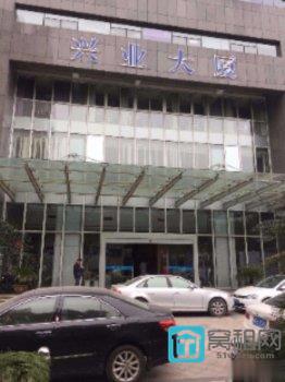 出租百丈东路兴业大厦整层895平方写字楼