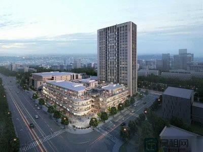 宁波华地城对面东都国际大厦109平米办公室出租含税2.2元/平米/天