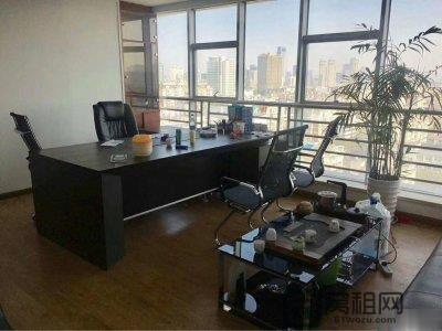宁波兴业大厦335平米写字楼出租带家具
