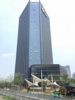 宁波金东大厦1000平米三面环河无遮挡采光好出租