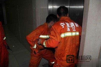 宁波江东一写字楼年内已发4起电梯困人事故