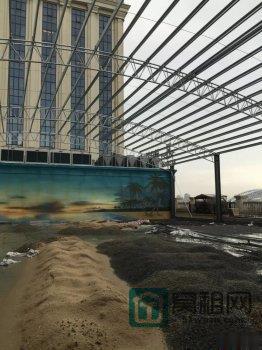 鄞州一酒店楼顶惊现八百平米钢棚 隔壁楼盘的准业主们急了