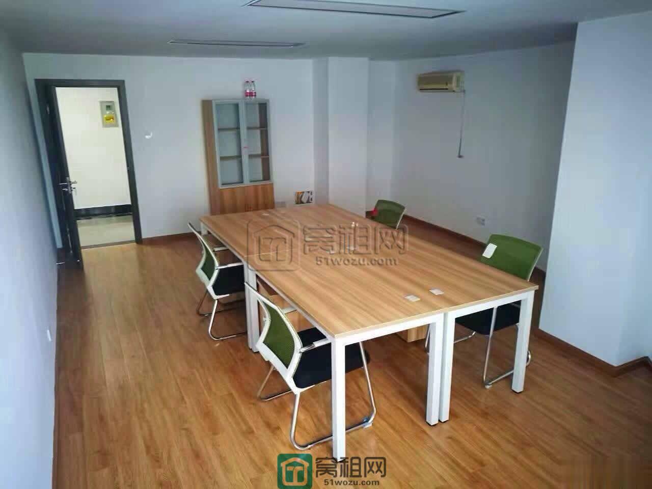 宁波平安大厦对面苍水大厦90平米带隔间家具包物业费网络出租
