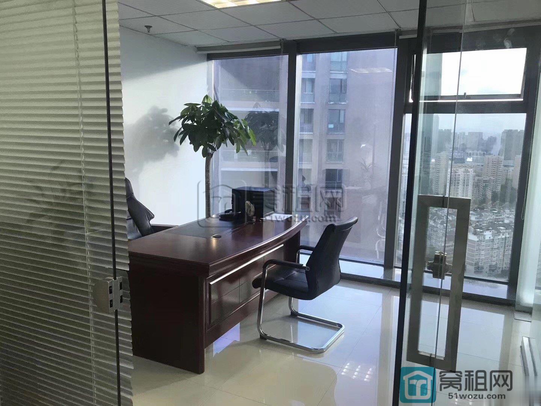 宁波汇亚国际大厦130平方高楼层落地窗西南采光出租