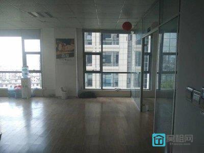 (出租)富邦广场大厦146平3个隔间精装修写字楼租金可月付