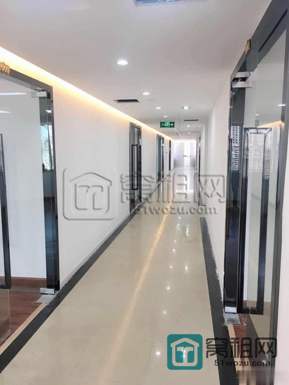宁波七塔寺附近世纪经贸大厦130平全新装修出租带隔间