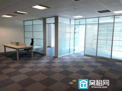 宁波罗蒙大厦138平米办公室精装修全落地窗出租