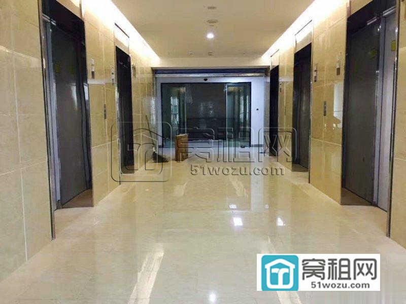南部商务区欧洲华商大厦139平带办公家具拎包入驻