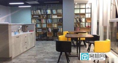 宁波创意设计大厦155平办公室出租朝东工业风电梯口 房子亮 清爽