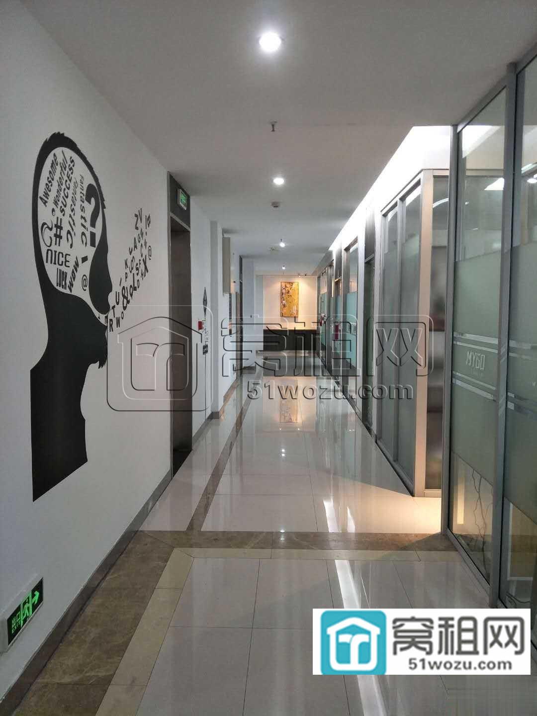 宁波研发园区233平米办公室出租不带家具