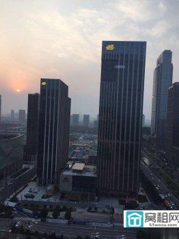 宁波东部新城绿城宁波中心隔壁紫荆汇写字楼430平米出租