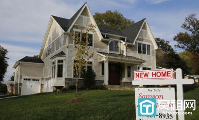 美国新屋销售骤降 表明楼市更加疲弱