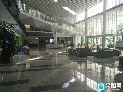 宁波国际金融中心F座227平精装带隔间写字楼出租