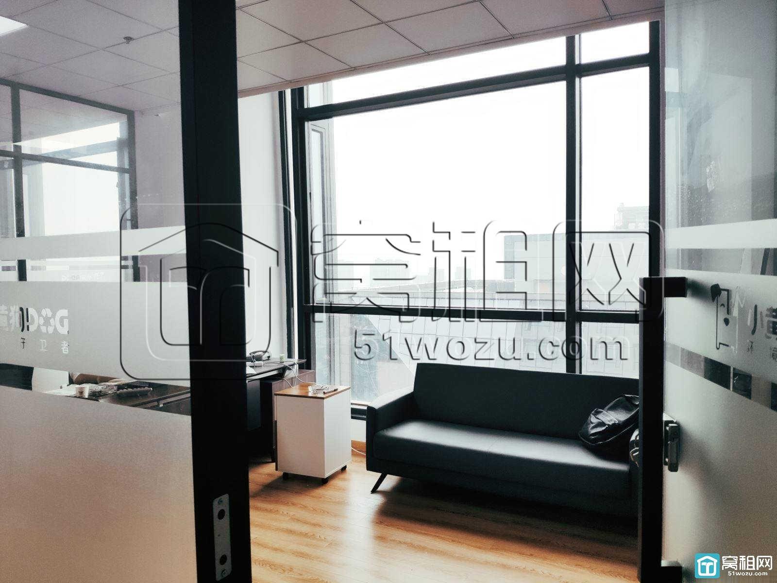 宁波欧洲华商大厦195平带全套家具带三隔间出租