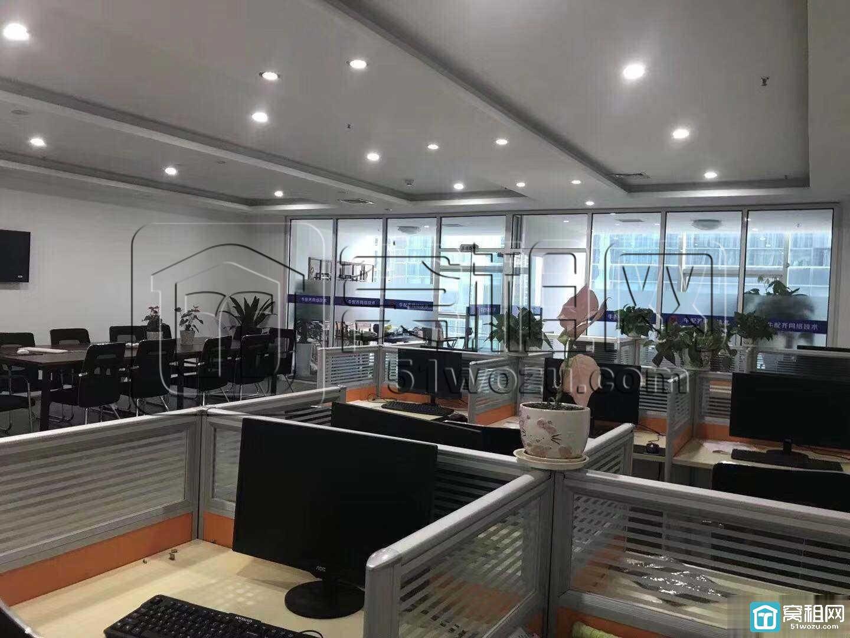 宁波恒元大厦 精装落地窗210平带隔间 拎包办公