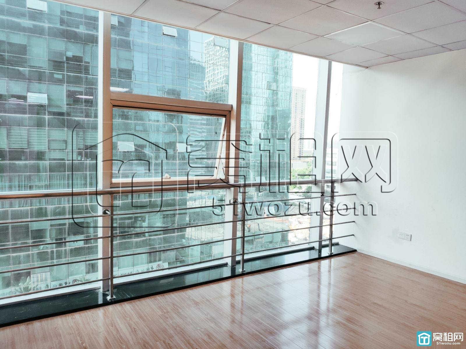 宁波广博丽景两隔间落地窗带水源办公室出租