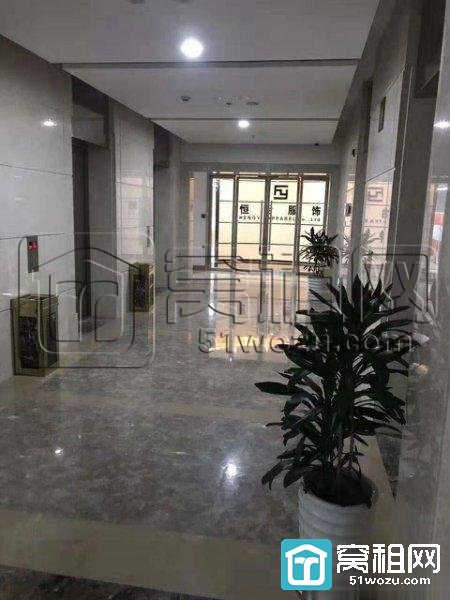 宁波海曙区壹都文化广场260平精装带隔间带家具出租