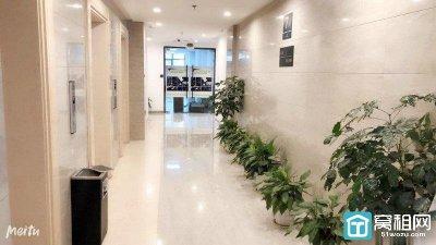 宁波国际会展中心旁 华城国际大厦170平 精装修带隔间