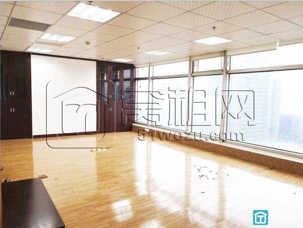 鄞州万达旁南苑环球写字楼地铁口550平豪装高档办公室出租