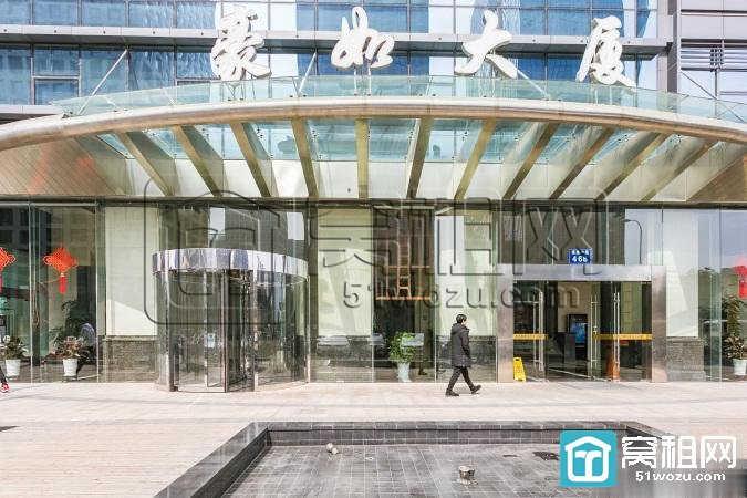 宁波豪如大厦精装修办公室338平米出租