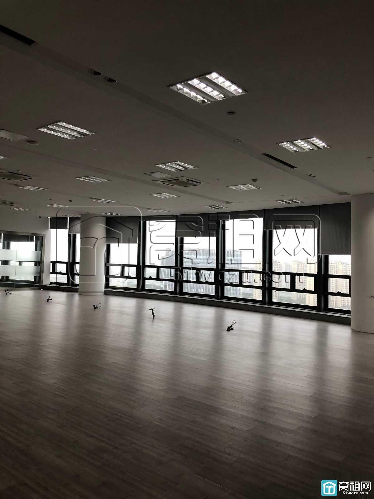 出租鄞州东胜街道5A纯写字楼财富中心大厦600平米
