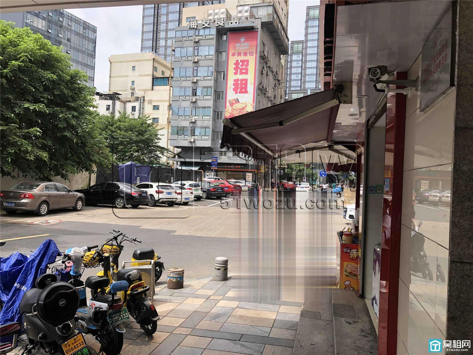 宁波海曙区江厦银座出租130平带隔间独立空调新装修