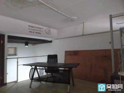 宁波江厦桥东地铁口中山首府写字楼复式57X2平独立空调精装出租