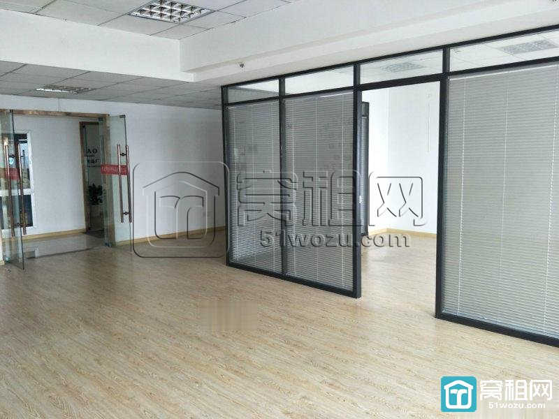 宁波海曙区晶崴大厦112平精装带隔间办公室出租