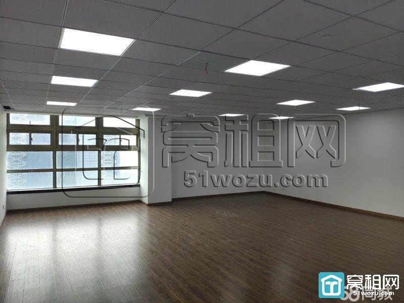 宁波南部商务区红巨大厦185平写字楼大通间落地窗办公室出租