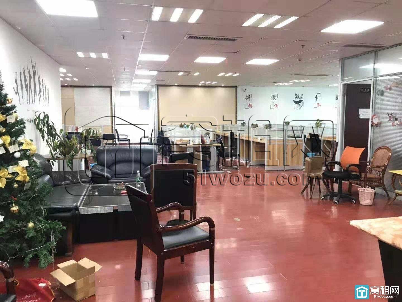 宁波广博丽景360平精装写字楼双面采光 大气前台出租
