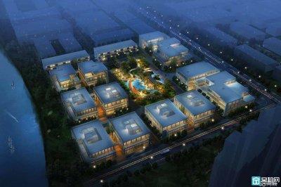 东部新城会展中心旁,八骏湾高端园林式办公,3F送露台甲方直租