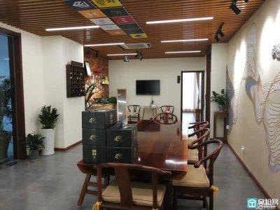 高新区东城国贸259平米精装修办公会所出租