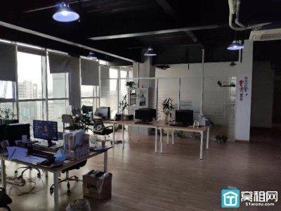 海曙区集士港写字楼新旺大厦精装修带家具330平