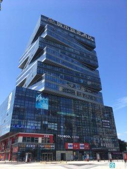出租鄞州明州里万达旁城市新贵酒店202.9平全落地窗