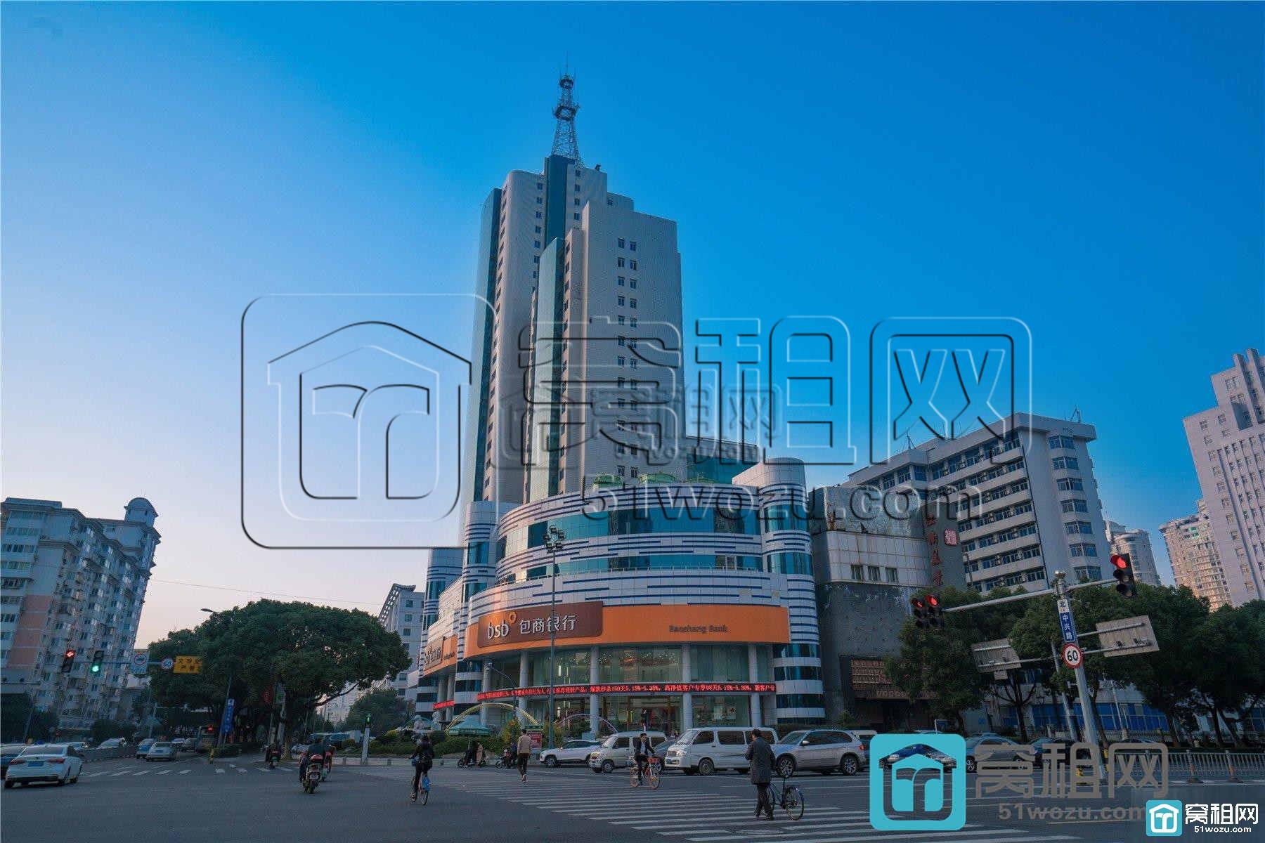包商大厦属于宁波哪个区和哪个街道?