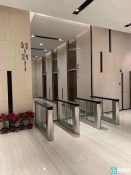 出租东部新城紫荆汇大厦隔壁宁波中心写字楼1025平精装修大通间