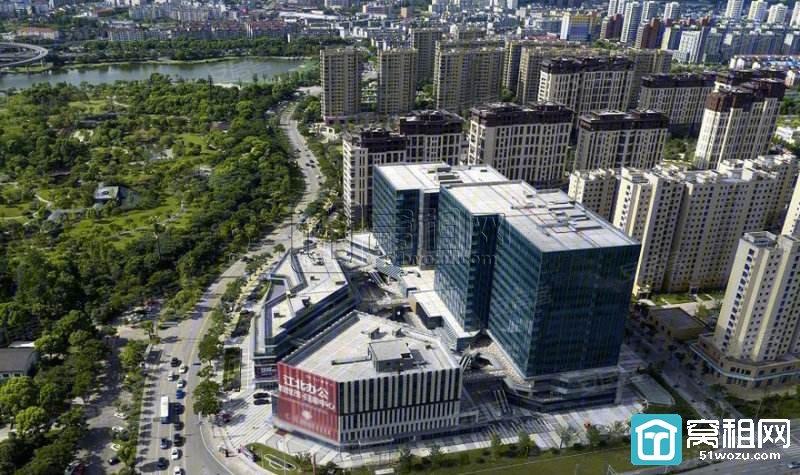 宁波世贸日湖中心