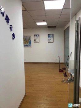 宁波中基大厦130平米精装修带玻璃隔间办公室出租