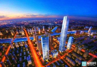 249米!宁波三江口第一高楼主体结构封顶 2021年年中投用
