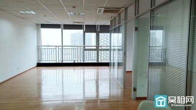 宁波鸿安大厦12楼精装107平东北双向采光出租