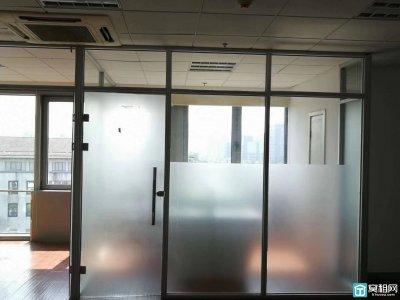 宁波三中附近泰富广场96平精装修带三个隔间出租